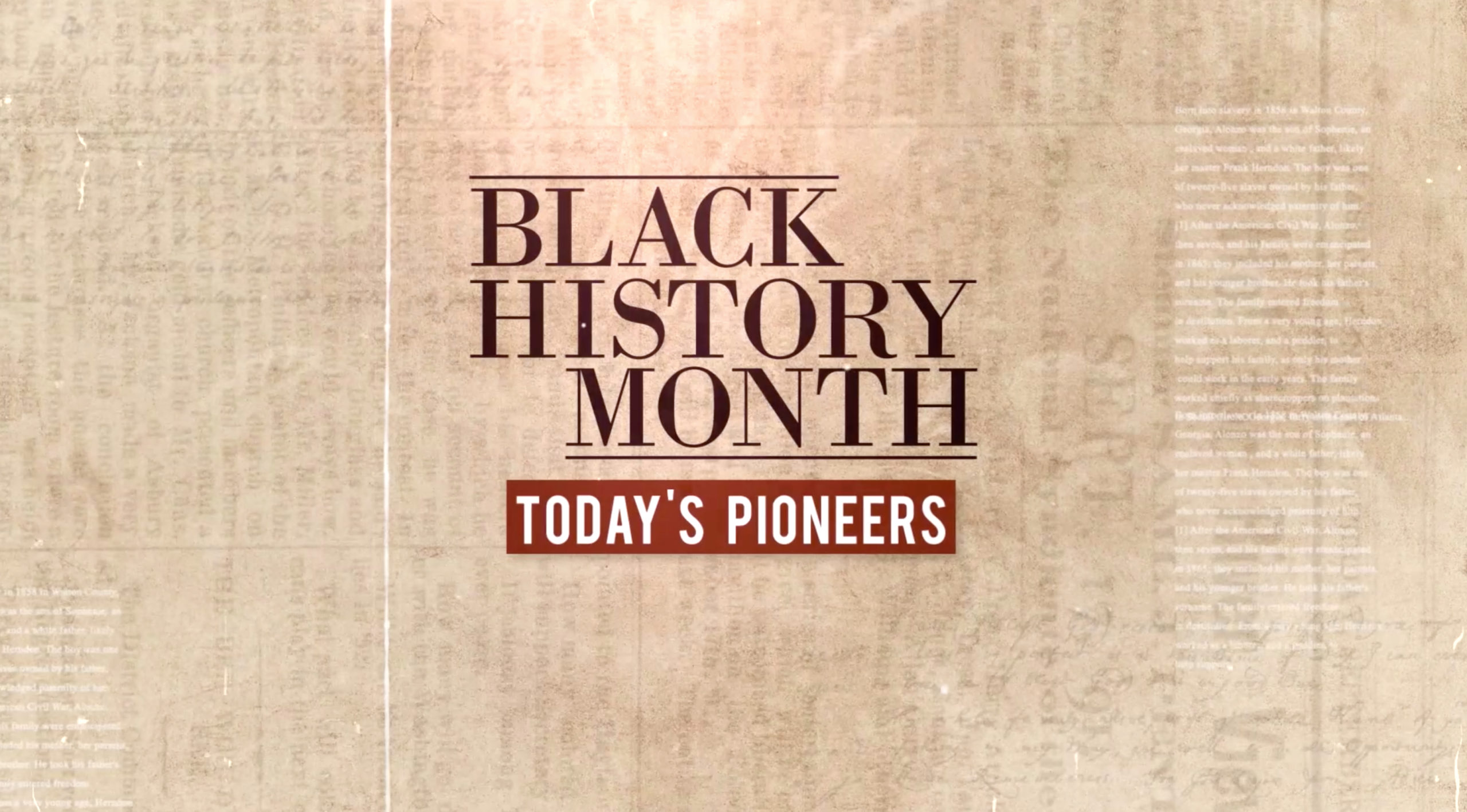 Pastor Lee Featured on 11Alive's Black History Month Special entitled: Today's Pioneers